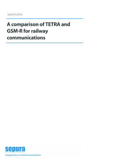 A Comparison Of Tetra And Gsm R For Railway Communications